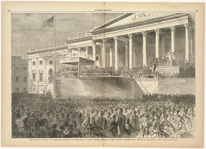 The Inauguration of Abraham Lincoln as President of the United States, at the Capitol, Washington, March 4, 1861