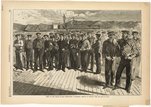 "Crew of the United States steam-sloop ""Colorado,"" shipped at Boston, June, 1861"