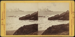 Inward bound steamer, from Cliff House