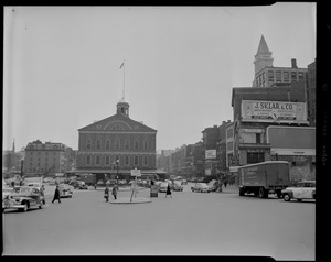 Dock Square. Faneuil Hall Square