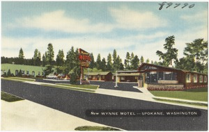 New Wynne Motel -- Spokane, Washington