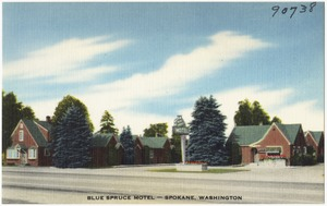 Blue Spruce Motel -- Spokane, Washington