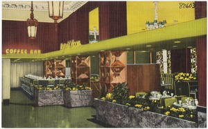 The Winthrop Hotel's Daffodil room, Tacoma, Washington