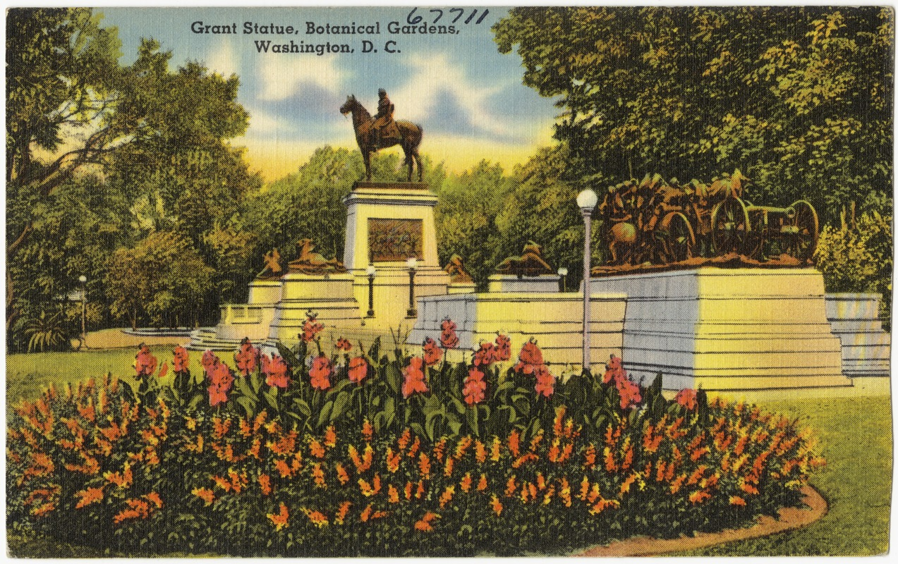 Grant Statue, Botanical Gardens, Washington, D. C. - Digital ...