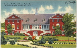 American Red Cross House, Walter Reed General Hospital, Washington, D. C.