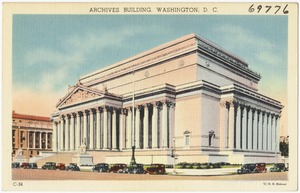 Archives Building, Washington, D. C.