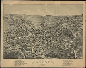 Campus Maps from Phillips Academy Archives and Special Collections