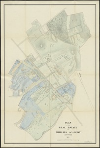 Plan of the real estate of Phillips Academy, Andover
