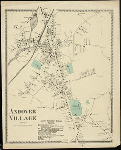 Collection Campus Maps From Phillips Academy Archives And Special