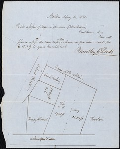 Map of taxable property