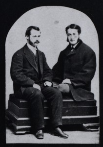 George Dickinson and Wesley Walcott