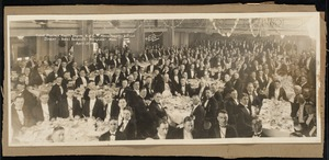 Cabot Province, Fourth Degree, K. of C. Massachusetts District Dinner - Hotel Bancroft - Worcester, Mass.