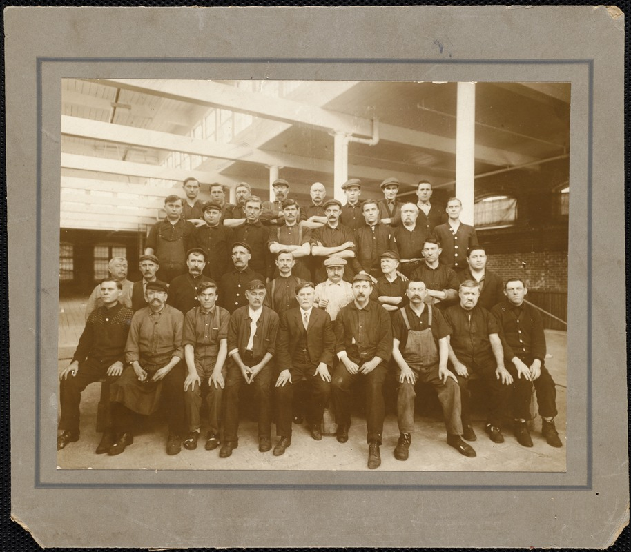 Ayer Mill employees c. 1920