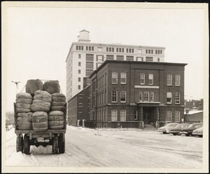 American Woolen Co. headquarters. Mill St., Lawrence