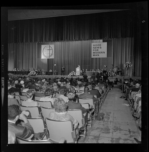 The 61st American Baptist Convention attendees at the War Memorial Auditorium