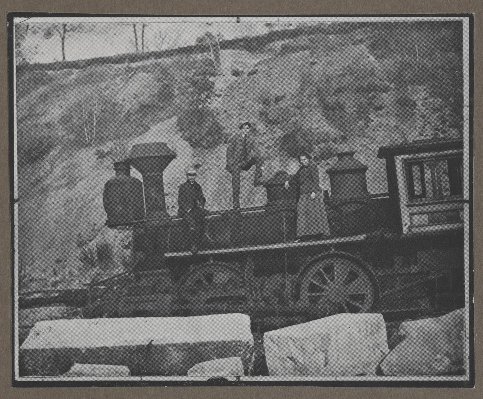 Waban photographs - Steam Locomotive Engine -