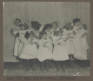 Waban photographs - Play at the Episcopal Church -