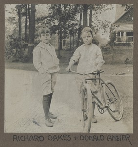 Waban photographs - Richard Oakes and Donald Angier -