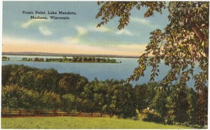 Picnic Point, Lake Mendota, Madison, Wisconsin