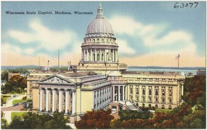 Wisconsin State Capitol, Madison, Wisconsin