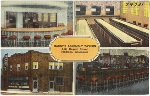 Hardy's Assembly Tavern, 1421 Regent Street, Madison, Wisconsin