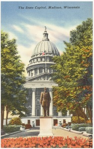 The State Capitol, Madison, Wisconsin