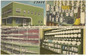 Hoffman Chemical & Supply Co., 109 S. Webster St., Wisconsin 3, Wisconsin, restaurant, tavern and janitor supplies