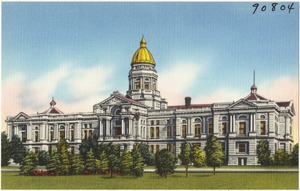 State capitol building, Cheyenne, Wyoming