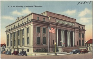 U. S. O. Building, Cheyenne, Wyoming