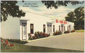 Big Horn Motel, Sheridan, Wyoming