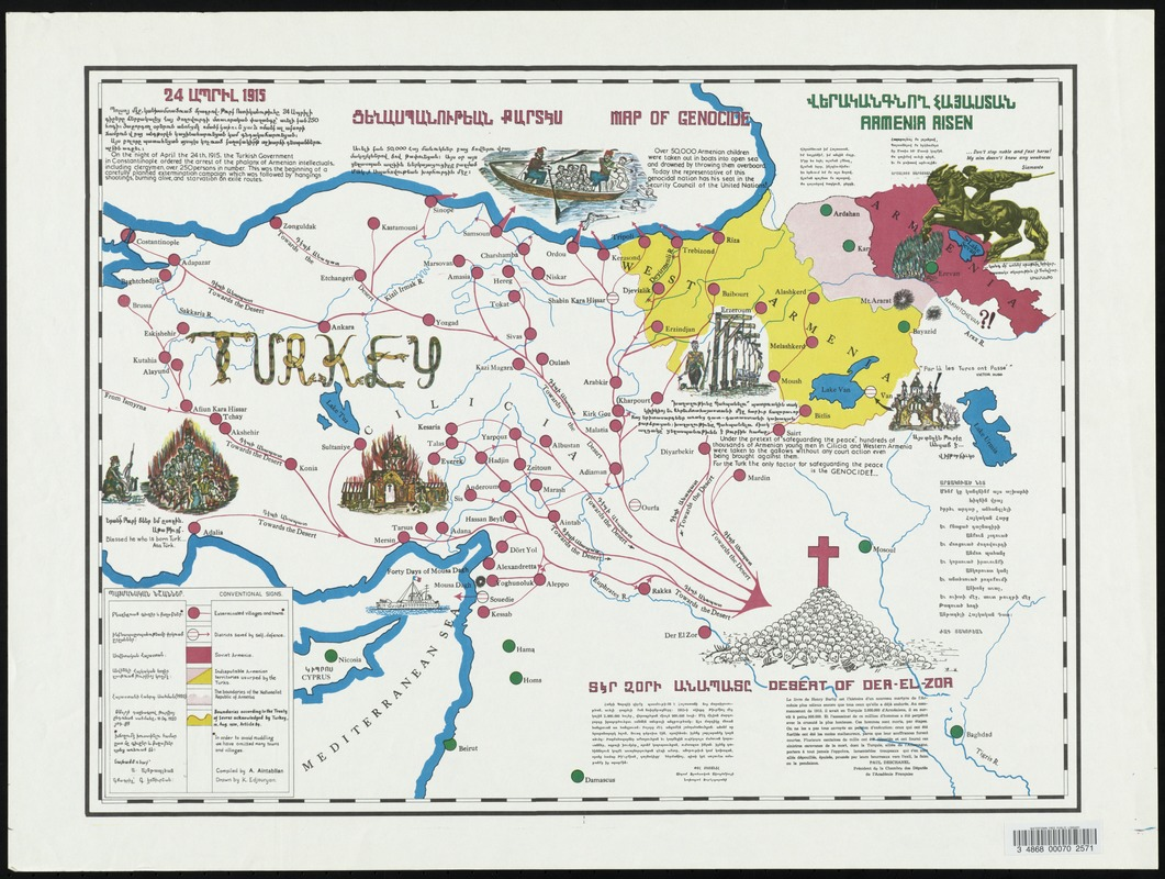 Map of genocide
