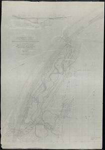Audubon Park/ New Orleans, LA./ Grading Study for Proposed Lagoons at Southern End of Park[r]/ ; Scale 40' = 1' [r]