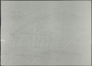 """Audubon Park/ New Orleans, LA./Topo Compiled from Various Sources of Zoo Site[r]/; Scale 40' = 1"""" [r]"""
