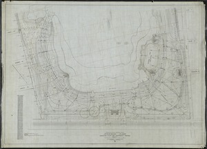 "Audubon Park Assoc. New Orleans, LA./ Audubon Park/ Grading Plan for Northerly Portion[r]/; Scale 40' = 1"" [r]"
