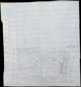 "Audubon Park/ New Orleans, LA./ Prelim. Plan / for/ Area South of Magazine St.[r]/ ; Scale 40' = 1"" [r]"
