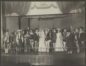 "Act V. Closing Scene. ""As You Like It"", Perkins Institution"