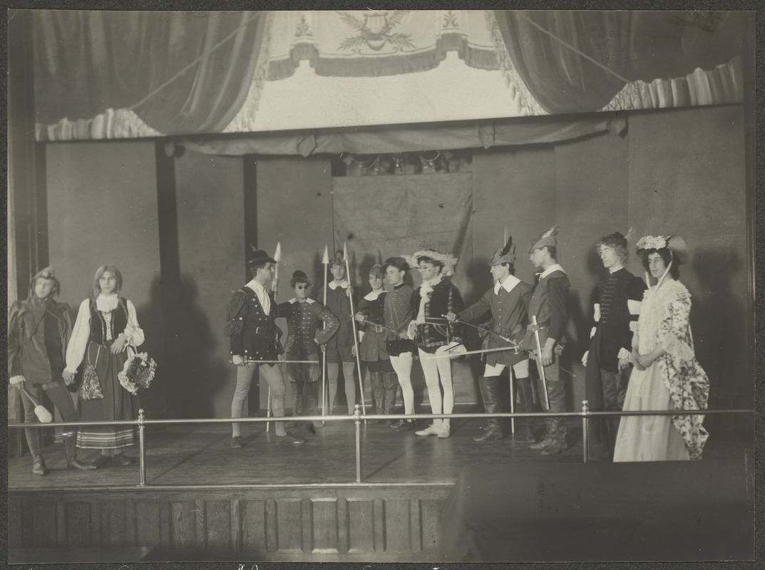 "Act II. Scene 7. ""As You Like It"", Perkins Institution"