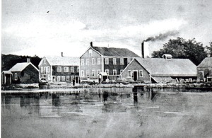 Small Shop Buildings in Hopedale, Massachusetts