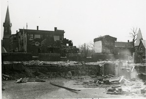 Fire 5, Ruins of Town Hall after fire of 1900
