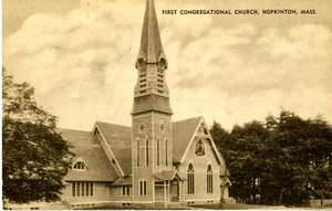First Congregational Church, Image 1, Hopkinton