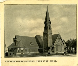 First Congregational Church, Image 2, Hopkinton