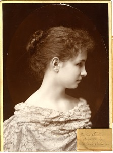 Helen Keller 1893, Presented to Hopkinton Public Library by Anne Emilie Poulsson