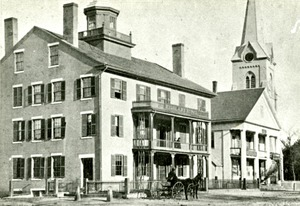 Highland House, Hopkinton ca 1880