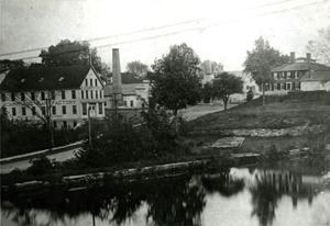 L.E. Coolidge Carriage Factory, in Hopkinton's Woodville 1890's