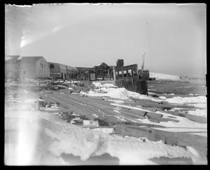 Wreck at Hingham Harbor Nov.27 1898