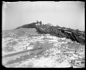 Wreck at Nantasket big storm Nov. 27 1898