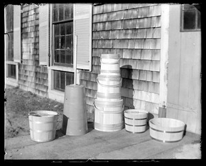 Buckets, tubs, etc. taken for A. Sprague