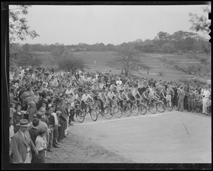 Start of race, probably Franklin Park