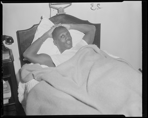 Champ Johnny Saxton before DeMarco fight