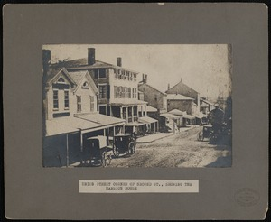 Union Street Showing Mansion House, New Bedford
